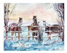 'Winter Waiting' Print
